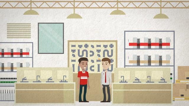 [Telhanorte] Agendamento | Aplicativo | Animação